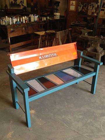 Kubota Bench