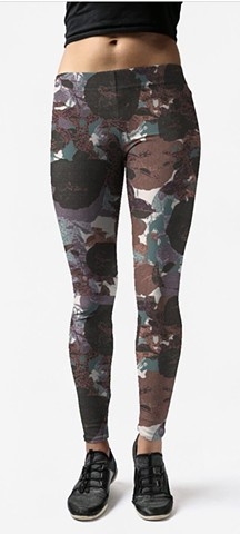 Leggings - Moody Roses