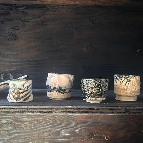 Yunomi Cups in porcelain