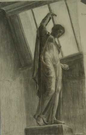 Lauren Pellerito, drawing, art, cast drawing, classical,