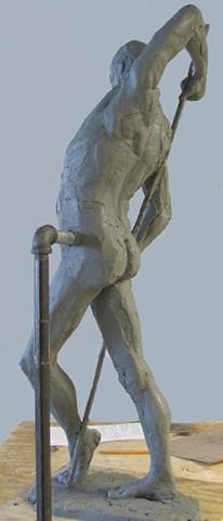Lauren Pellerito, artist, art, sculpture, figure, modeling,