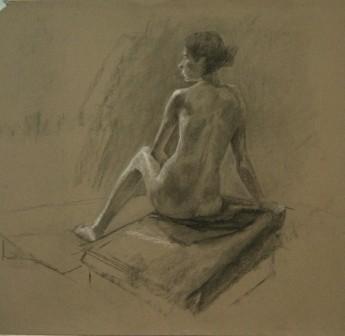 Lauren Pellerito, drawing, art, figure, study,