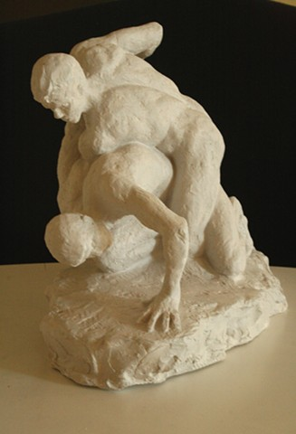 Lauren Pellerito, art, sculpture, figure, modeling, cast, classical