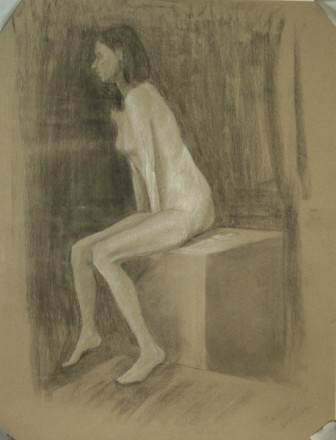 Lauren Pellerito, drawing, art, figure, study,