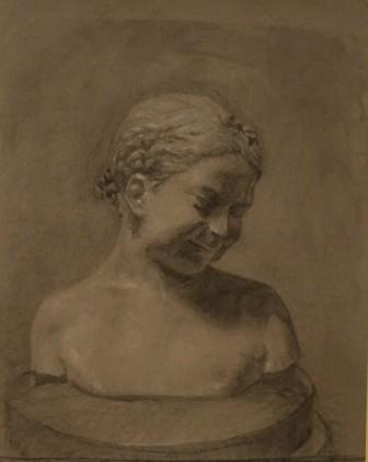 Lauren Pellerito, drawing, art, cast, classical,