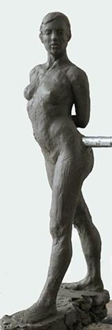 Lauren Pellerito, Figure, Modeling, Sculpture, Art, Artist,