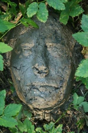 environmental art, dirt sculpture, ephemeral art, erosion sculpture, nature art, nature sculpture