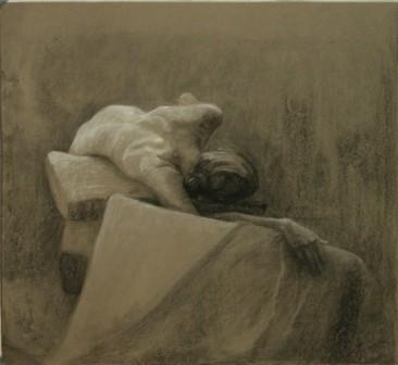 Lauren Pellerito, drawing, figure,