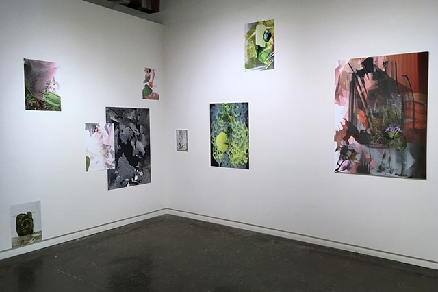 "Installation View, ""Ephemerals"" at Soo Visual Art Center"