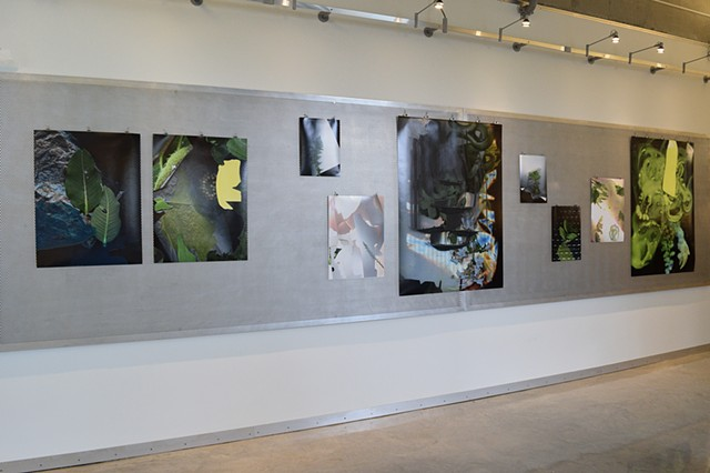Installation View. Images from the Prairie Constructs Series