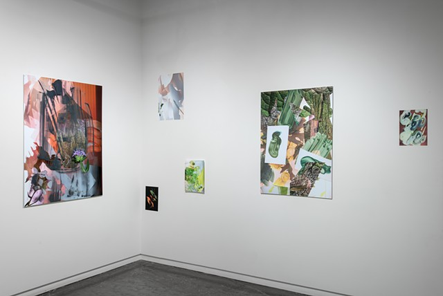 "Installation View, ""Ephemerals"" at Soo Visual Art Center  image credit: Rik Sferrra"