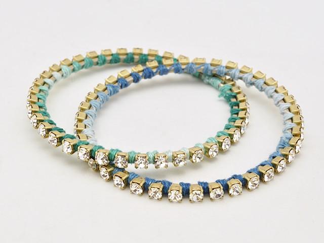 Sarah Holden Rhinestone Bracelets