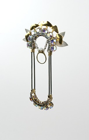 Curtis Arima  Deco Brooch