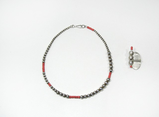 Suzanne Pugh   Necklace and Brooch