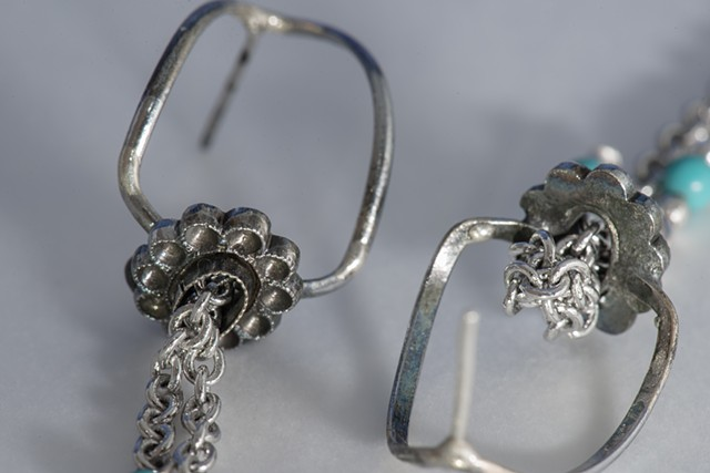 Annika Rundberg  Earrings 1 (Detail)