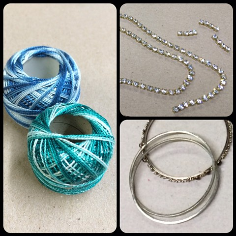 Sarah Holden Rhinestone Bracelets - Process