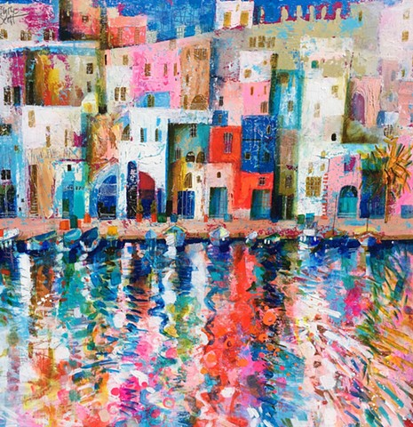 'ITALIAN WATER DANCE' Sold