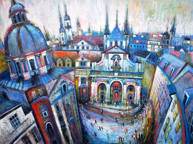 'COUNTING SPIRES' Sold