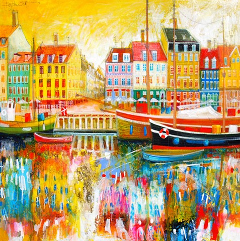 'SWEETNESS & LIGHT, COPENHAGEN' Sold