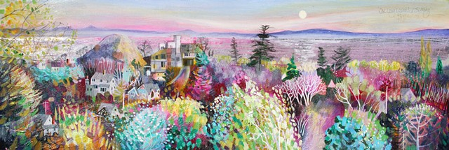 'ONE LONG LAVENDER EVENING' Sold