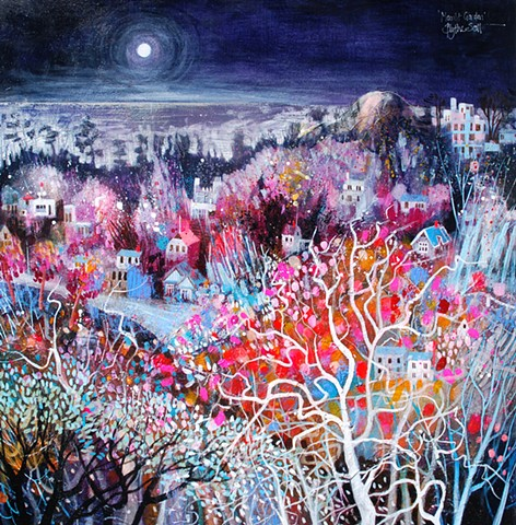 'MOONLIT GARDEN' Sold