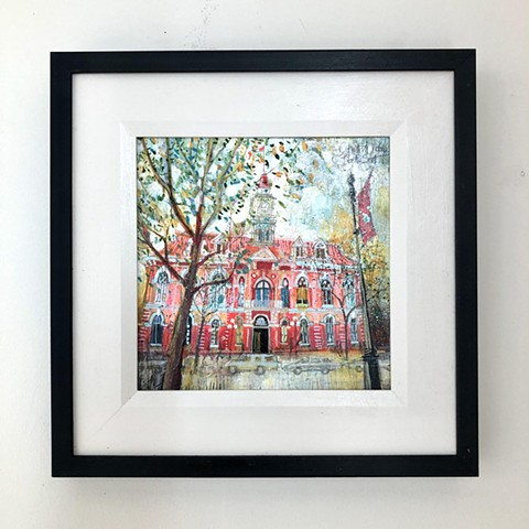 'CITY HALL, Victoria' Framed