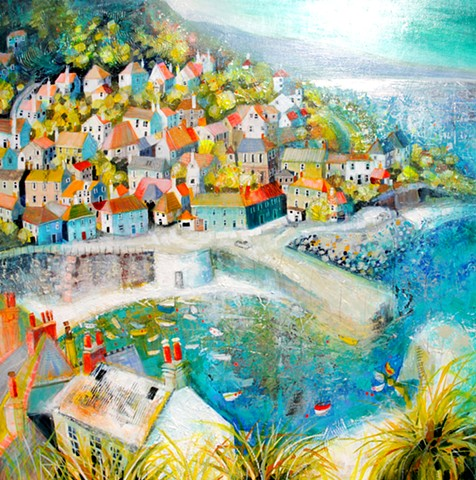 'SUNLIGHT & WHIMSY, CORNWALL' Sold