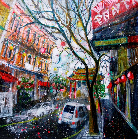 'CHINATOWN SPARKLE' Sold