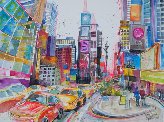 'TIMES SQUARE, NEW YORK' Available
