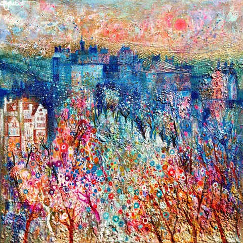 'EDINBURGH TWILIGHT' Sold