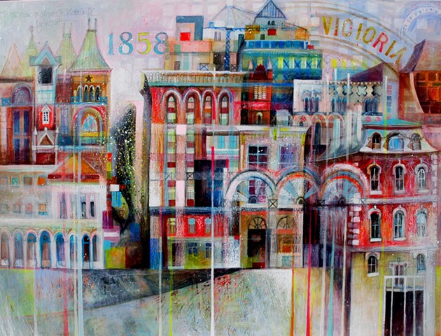'WELCOME TO WHARF STREET' Sold
