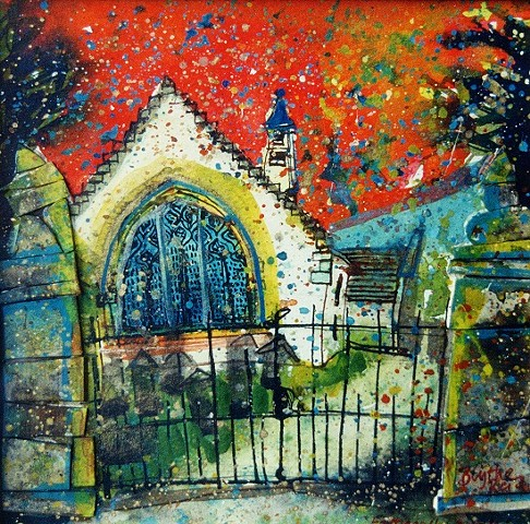 'FORTINGALL CHURCH' Sold