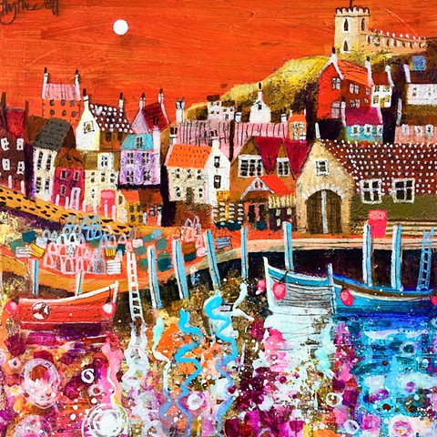 'HIGGLETY PIGGLETY HARBOUR' Sold