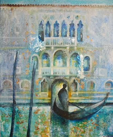 'NIGHT WATCH, VENICE' Sold