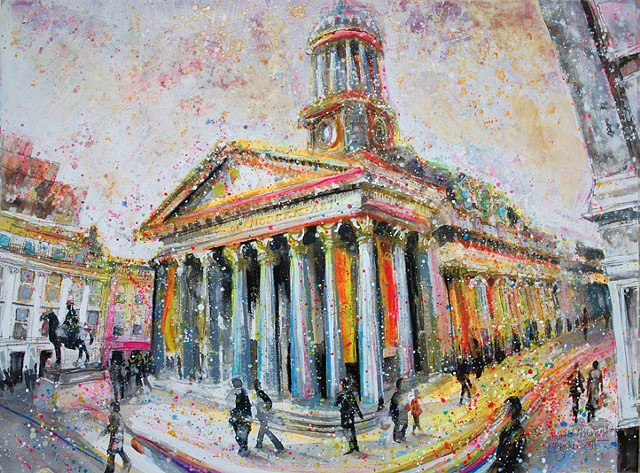 'COLOURS AT GOMA' Sold