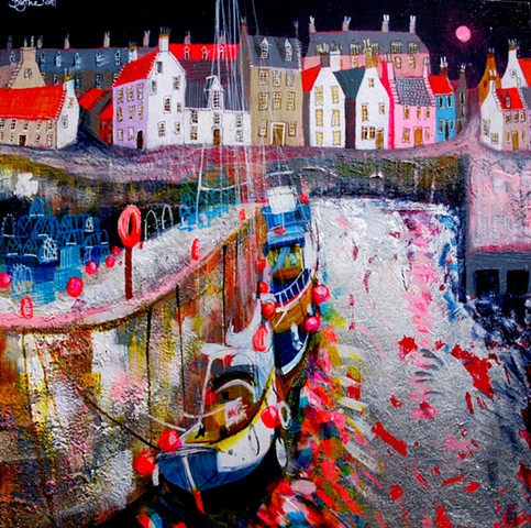 'MIDNIGHT HARBOUR' Sold