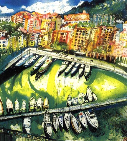 'MONACO HARBOUR' Sold