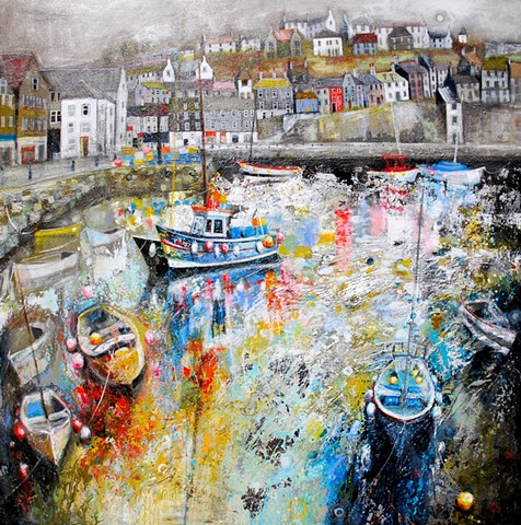 'FINDING COLOUR IN THE GREY' Sold