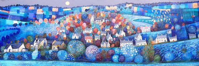 'UNDER A COPPER MOON' Sold