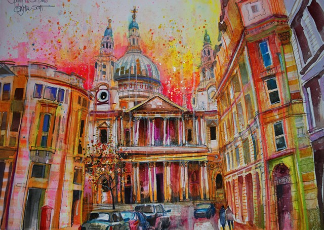 'ST. PAUL'S CATHEDRAL, LONDON' Available