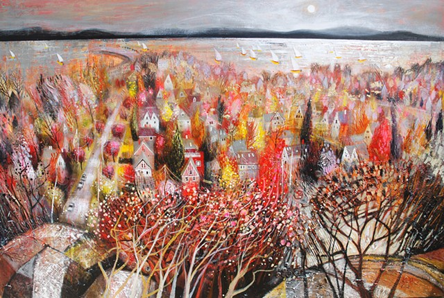 'AUTUMN DREAMSCAPE' Sold