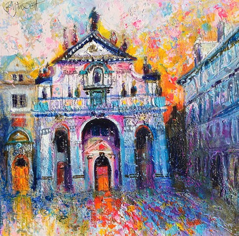 'St SALVATOR, Prague' Sold