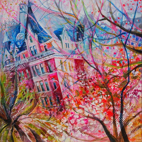 'BLOSSOMS ON BELLEVILLE' Available