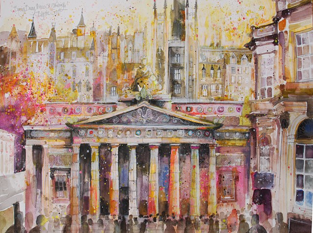 'BUSY BUSY, PRINCES STREET' Available