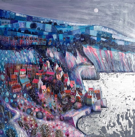 'MOONLIGHT DREAMSCAPE' Sold
