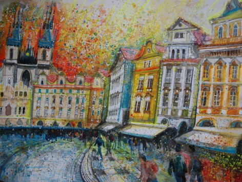 'HAPPY HOUSES, PRAGUE' Available