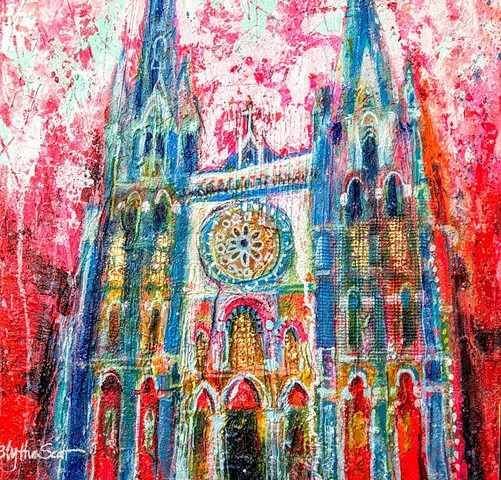 'EVENING PRAYER, CHARTRES' Available