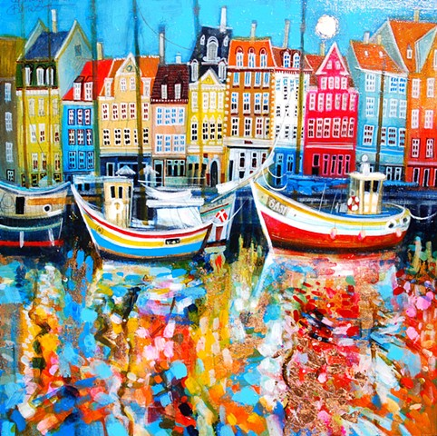'COPENHAGEN RAINBOW' Sold