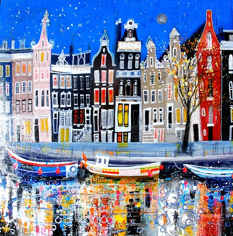 'GOODNIGHT, AMSTERDAM' Sold