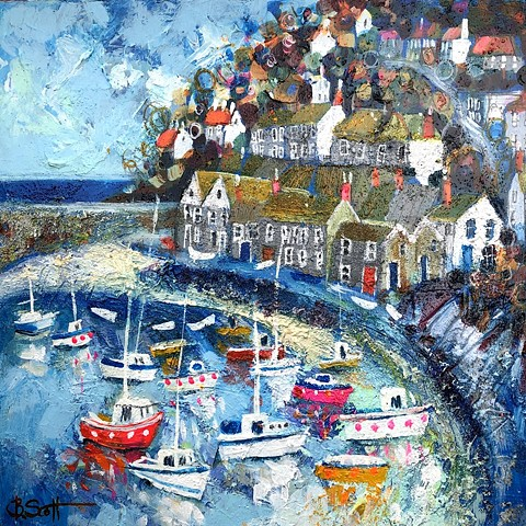 'BOATS A-BOBBING' Sold
